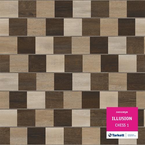 Линолеум Tarkett Illusion CHESS 1
